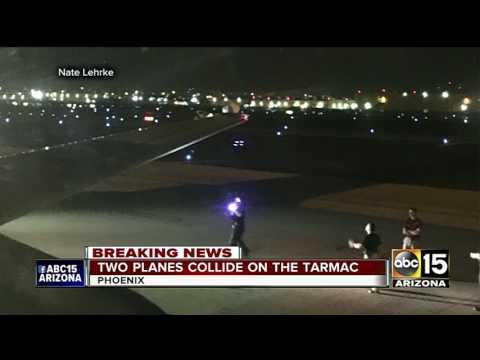 BREAKING: 2 planes collide at Sky Harbor Airport