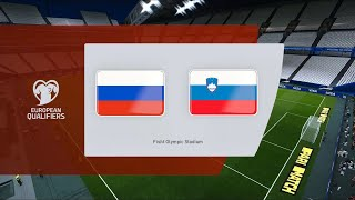 Buy me a coffee: https://ko-fi.com/corocus2022 fifa world cup uefa qualifier matchday 2 group hrussia vs sloveniatime for #wcq!#russvn simulated in #pes2021e...