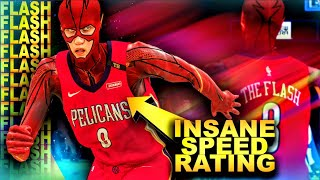 THE FLASH Is The Fastest Player EVER CREATED In NBA 2K HISTORY... | DominusIV