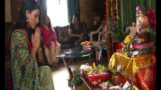 Actress Shweta Khanduri Celebrate Ganpati Festival