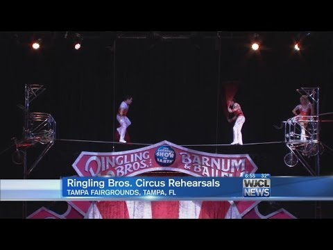 Preview of Ringling Bros. and Barnum & Bailey Circus