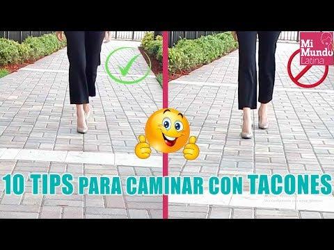 10 Trucos para aprender a caminar en tacones con el mejor estilo 👠👩