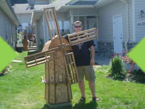 JAKEMAKE Garden Windmill