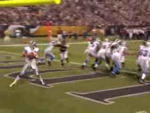 Dan Orlovsky gets safetied in Minnesota
