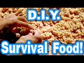 DIY Super Survival Food! Healthy AND Yummy! Parched Grains!