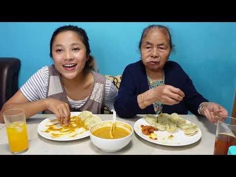 Download 30 momo mukbang with grandmother