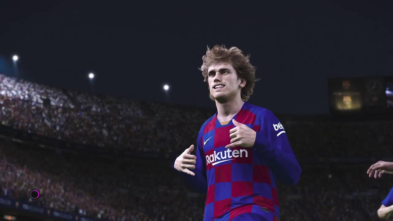Barcelona vs Valencia PES 2020 Master League Ep 2 ...