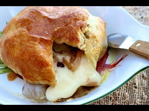 Appetizer Recipe: Baked Brie En Croute by Everyday Gourmet with Blakely