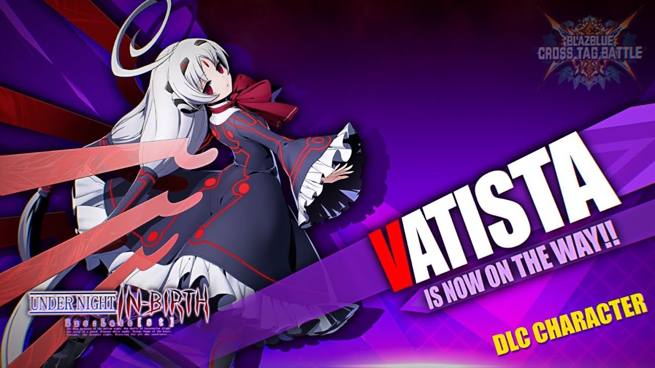 BlazBlue Cross Tag Battle Character Introduction Trailer #8