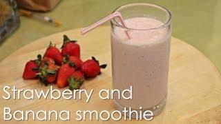 Strawberry And Banana Smoothie - Recipe By Zataya Yummy