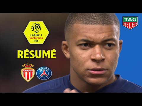 AS Monaco - Paris Saint-Germain ( 0-4 ) - Résumé - (ASM - PARIS) / 2018-19