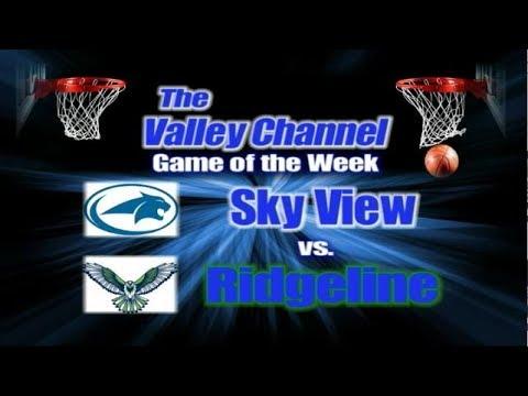 Sky View High School at Ridgeline High School basketball game 2-7-20