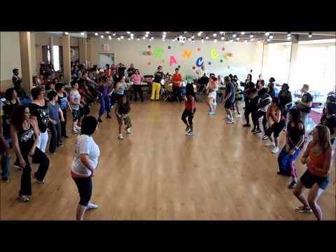 Back It Up  Beenie Man  Zumba Fitness battle