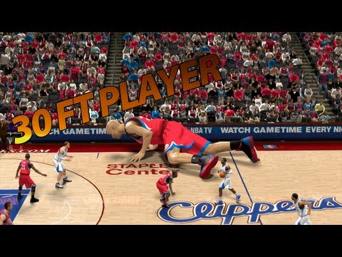 NBA 2K13 - 30 Foot Player | Tallest Player Ever!!