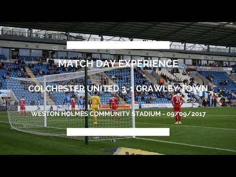 COLCHESTER UNITED V CRAWLEY TOWN MATCH DAY VLOG - WIN CHAMPIONS LEAGUE TICKETS?!