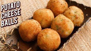 Cheesy Potato Balls - Quick & Easy Cheesy Snack Recipe - Cheese Ball Recipe - Bhumika