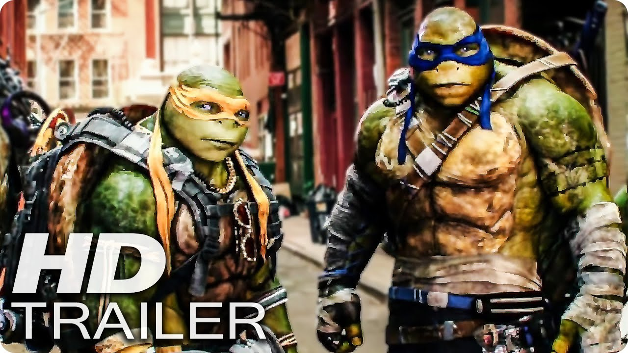TEENAGE MUTANT NINJA TURTLES 2 Trailer German Deutsch 2016  YouTube