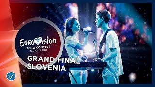 Slovenia - LIVE - Zala Kralj & Gasper Santl - Sebi - Grand Final - Eurovision 2019