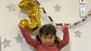【はな⭐︎3歳 】誕生日   तीसरा जन्मदिन‼︎