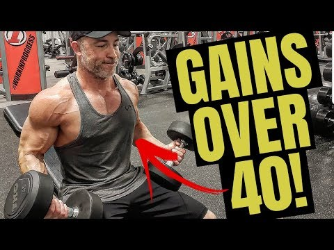 How To Build Muscle After 40 (COMPLETE LIST!)