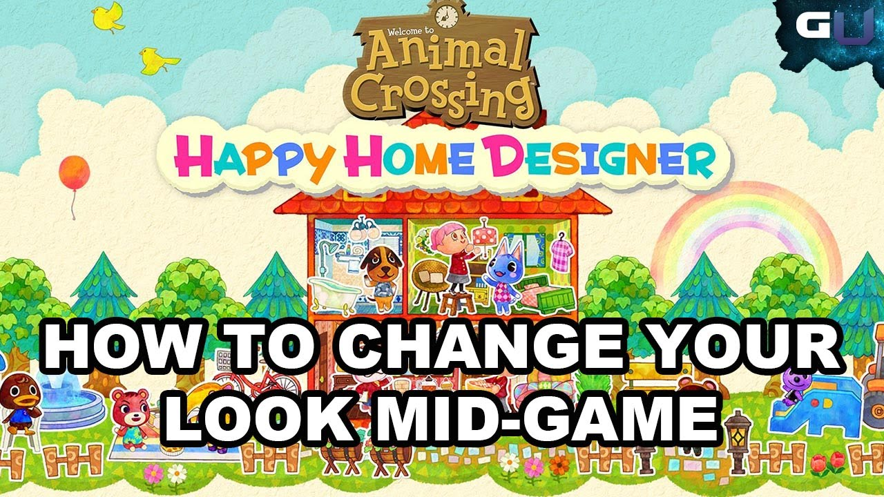 Animal Crossing: Happy Home Designer - How to Change Your Look Mid on happy home designer art, happy home blog, happy home designer apps,