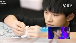 [Vietsub] Thiên Tỉ, Vương Nguyên làm bánh tặng sinh nhật Đại ca Vương Tuấn Khải
