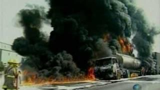 Styrene tanker explosion