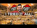 I ORDERED the entire PIZZA HUT MENU !! *TOO EXPENSIVE*