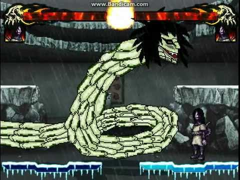 M'Orochimaru'K snake form (alfa) - YouTube