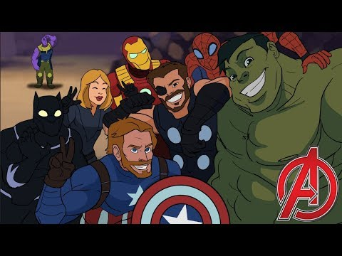 Avengers Assemble - Avengers Infinity War Parody Animation - MOVIE SHENANIGANS