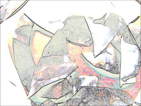 SHATTERED HEART paper mache craft art video by Leslie X
