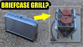 Briefcase Barbecue Review: D๐es This Folding Grill Work?