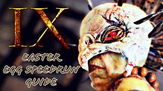 Steps to ix easter egg video clip