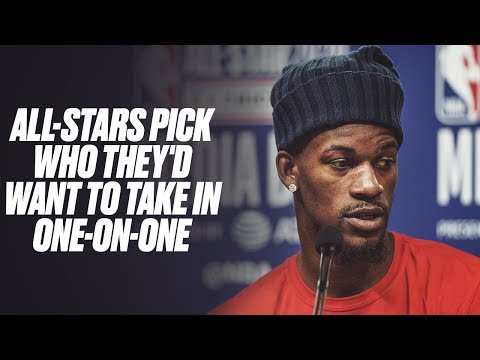 All-Stars Pick Who They'd Take In One-On-One
