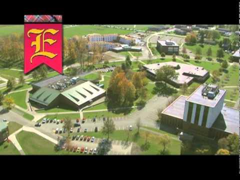 Edinboro University Aerial