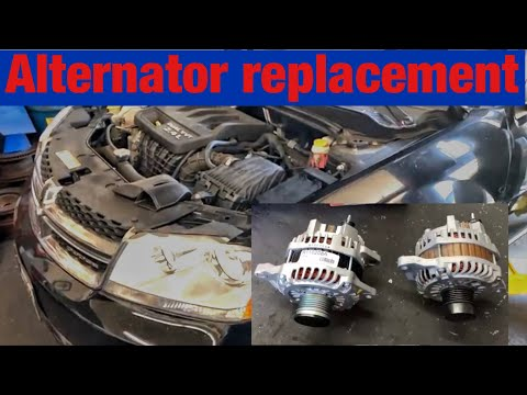 How to Replace the Alternator on a 2007-2015 Dodge Avenger with 2.4L Engine