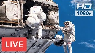 WATCH LIVE: Spacewalk outside the International Space Station