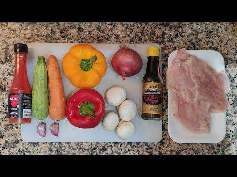 ووك-الدجاج-والخضر-وجبة-رائعة-و-سريعة-التحضير-wok-au-poulet-et-légumes