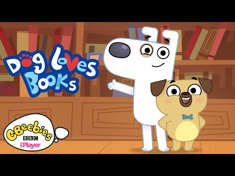 Dog Loves Books | Theme Song | CBeebies