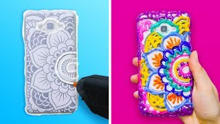 15 WONDERFUL DIY PHONE CASES AND HOLDERS