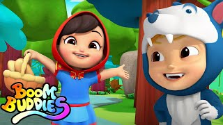 Little Red Riding Hood Story | Bedtime Stories | Pretend Play Song | Nursery Rhymes and Kids Songs