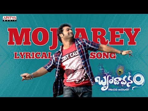 Mojjarey Full Song With Lyrics - Brindavanam Songs - Jr. Ntr, Samantha, Kajal
