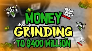 GTA5 ONLINE LIVE - $400 MILLION MONEY GRIND WITH FRIENDS 👍
