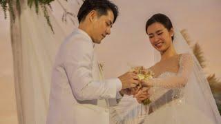 ÔNG CAO THẮNG trao nhẫn cưới cho ĐÔNG NHI trên biển vô cùng lãng mạn | BÍ MẬT VBIZ