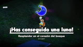Luna ''Resplandor en el corazón del bosque'' (Reino Arbolado)   Super Mario Odissey (Switch)