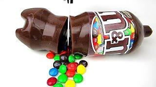 How To Make a Chocolate  M&M Jello Cola Soda Bottle! DIY Jelly Gummy Dessert!