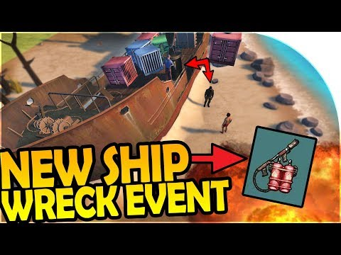 NEW SHIP WRECK EVENT INBOUND + FLAMETHROWER RECIPE?! - Last Day On Earth Survival 1.6.2 Update