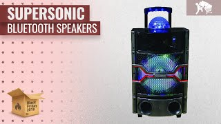 Supersonic Bluetooth Speakers Black Friday / Cyber Monday 2018 | Speakers Deals Buying Guide