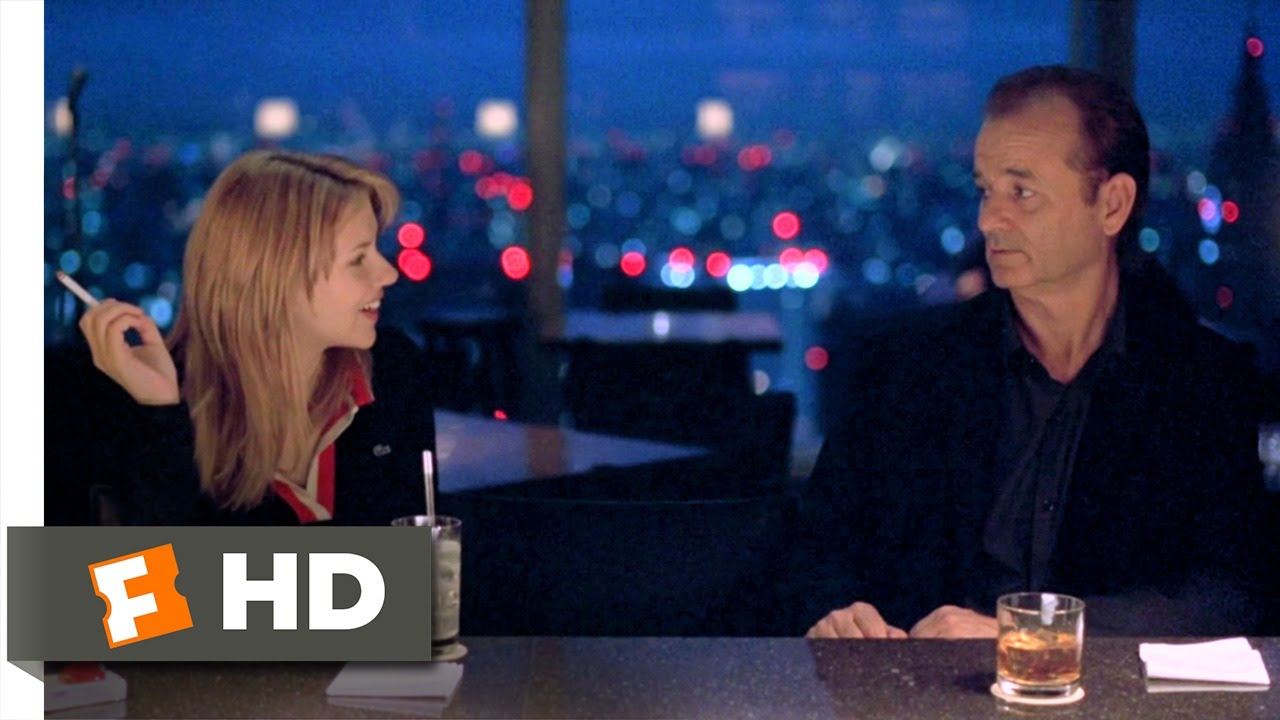 Lost In Translation 710 Movie Clip Bob And Charlotte Meet 2003