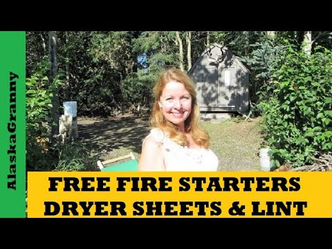 How to Start Fires With Dryer Lint- DIY Fire Starters